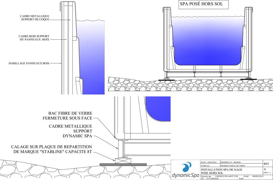 dynamic spa installation de spa de nage et spa de relaxation. Black Bedroom Furniture Sets. Home Design Ideas