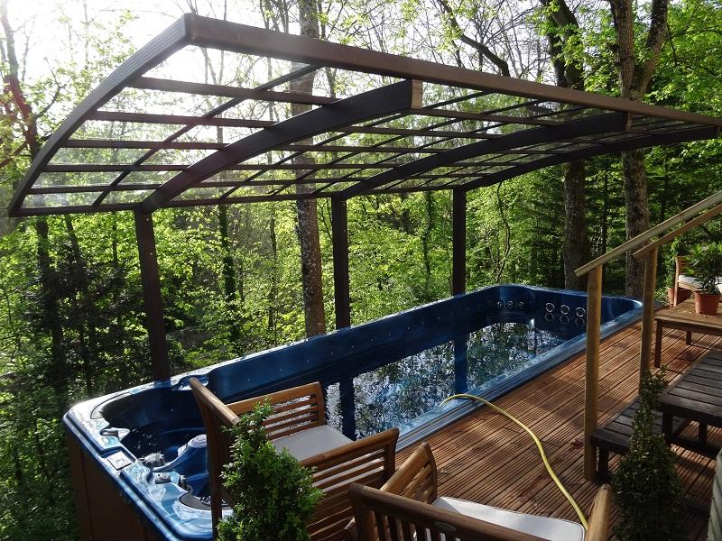 Spa de terrasse amazing amnagement jardin avec spa fresh for Spa de nage exterieur pas cher
