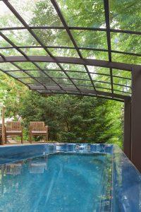 Spa de nage Monozone et marquise - 6 mètres