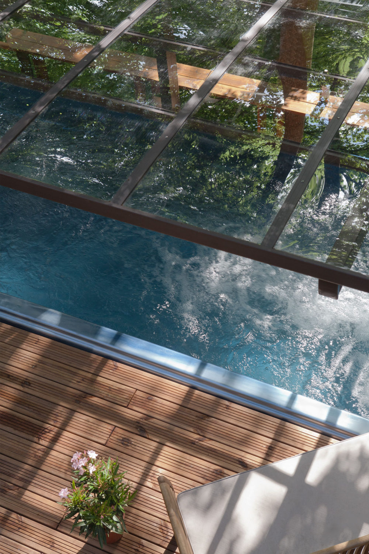 Spa de nage et abri - Essais - Longueur totale 5,85 m